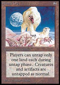 Frostbringer Winter Orb